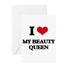 my beauty queen Greeting Cards