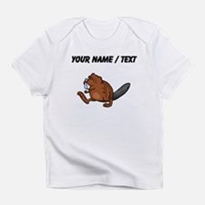 Custom Beaver Walking Infant T-Shirt