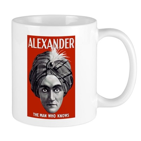 ALEXANDER PSYCHIC coffee cup