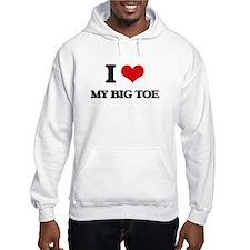my big toe Hoodie