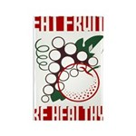 EAT FRUIT fridge magnet