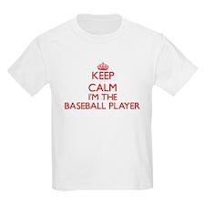 Keep calm I'm the Baseball Player T-Shirt