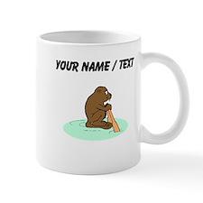 Custom Beaver Rowing Mugs