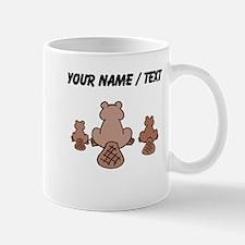 Custom Beaver Family Mugs