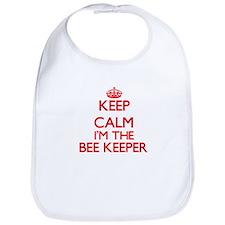 Keep calm I'm the Bee Keeper Bib