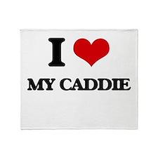 my caddie Throw Blanket