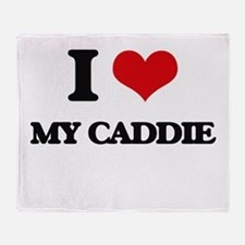 my caddie Throw Blanket