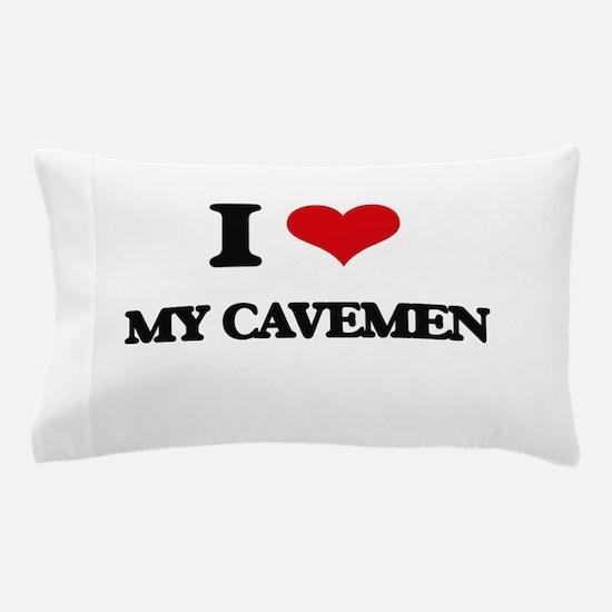 my cavemen Pillow Case