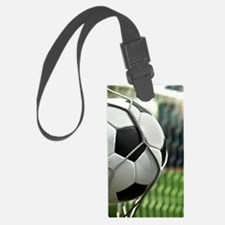 Soccer Goal Luggage Tag