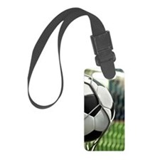 Soccer Goal Luggage Tag