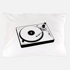 DJ Turntable Pillow Case