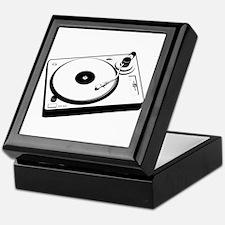 DJ Turntable Keepsake Box