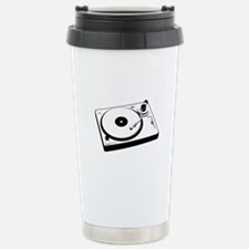 DJ Turntable Travel Mug