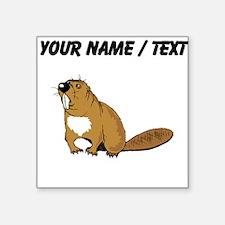 Custom Brown Beaver Sticker