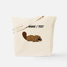 Custom Baby Beaver Tote Bag