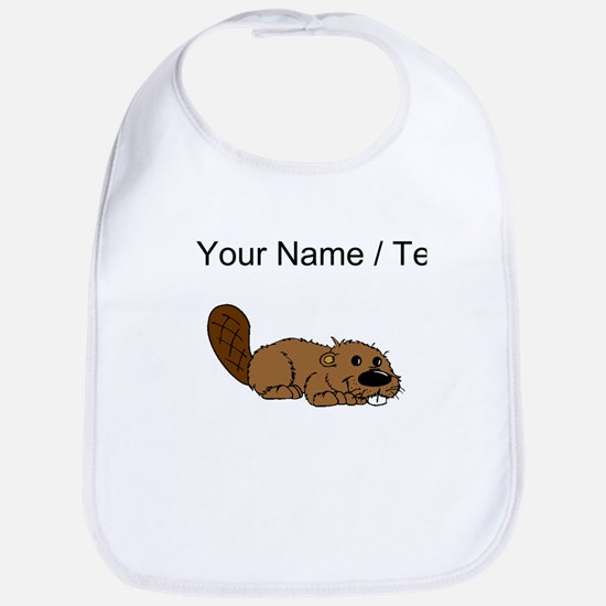 Custom Baby Beaver Bib
