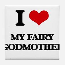 my fairy godmother Tile Coaster
