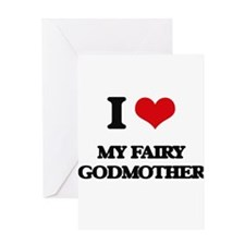 my fairy godmother Greeting Cards