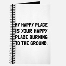 Happy Place Burning Journal