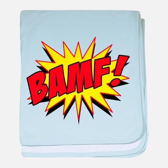Bamf! baby blanket