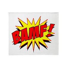 Bamf! Throw Blanket