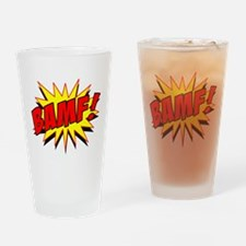 Bamf! Drinking Glass