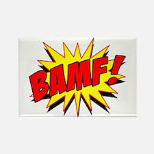 Bamf! Rectangle Magnet