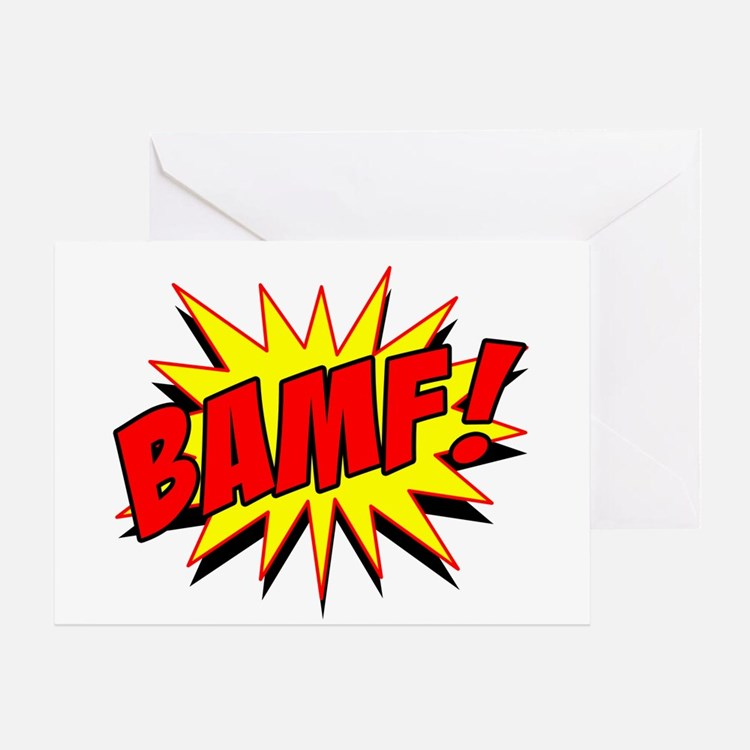 Bamf! Greeting Card