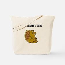 Custom Cartoon Beaver Tote Bag