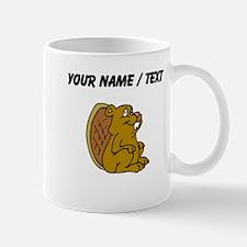 Custom Cartoon Beaver Mugs
