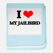 my jailbird baby blanket