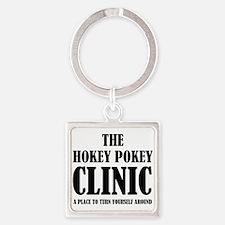Hokey Pokey Clinic Keychains