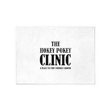 Hokey Pokey Clinic 5'x7'Area Rug