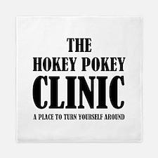 Hokey Pokey Clinic Queen Duvet