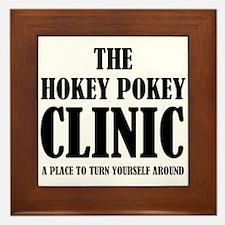 Hokey Pokey Clinic Framed Tile