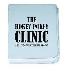 Hokey Pokey Clinic baby blanket