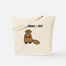 Custom Brown Beaver Tote Bag