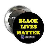 Black lives matter pin Single