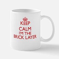 Keep calm I'm the Brick Layer Mugs