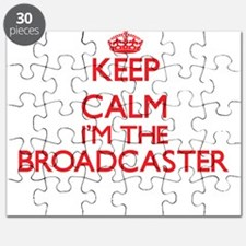 Keep calm I'm the Broadcaster Puzzle