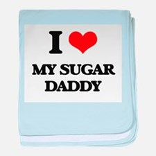 my sugar daddy baby blanket