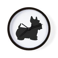 SCOTTY DOG Wall Clock