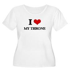 my throne Plus Size T-Shirt