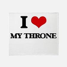 my throne Throw Blanket