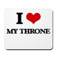 my throne Mousepad