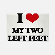 my two left feet Magnets