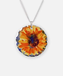 Sunflowers Necklace