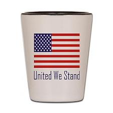 United Flag Shot Glass
