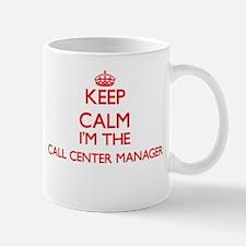 Keep calm I'm the Call Center Manager Mugs