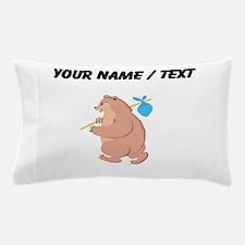 Custom Bear Hitchhiking Pillow Case